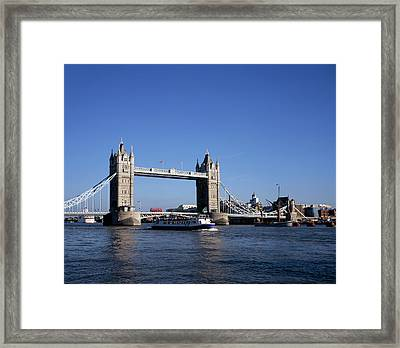 Tower Bridge, London Framed Print by Lothar Schulz