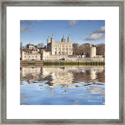 Tower Of London Framed Print by Colin and Linda McKie