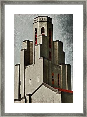 Tower Of Memories Framed Print by Kevin Munro