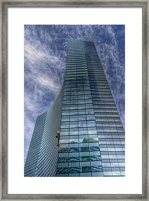 Tower Framed Print by Stephen Campbell
