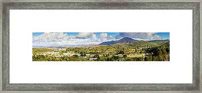 Town Of Zeehan Australia Framed Print by Jorgo Photography - Wall Art Gallery