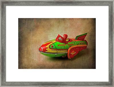 Toy Rocker Racer Car Framed Print by Garry Gay