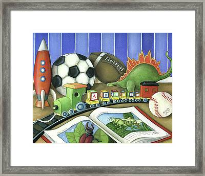 Toys Framed Print by Michelle Lackey