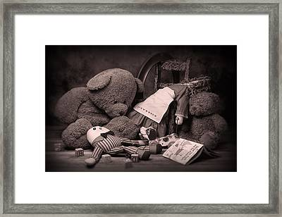 Toys Framed Print by Tom Mc Nemar