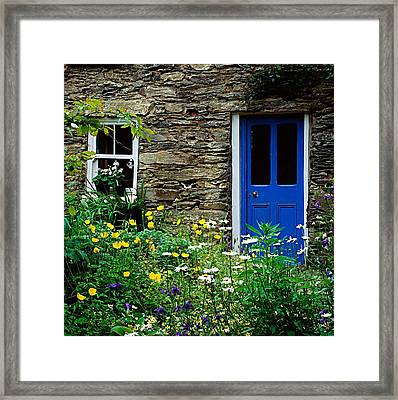Traditional Cottage, Co Cork Framed Print by The Irish Image Collection