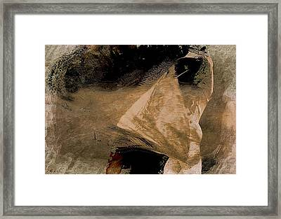 Traditional Flamenco Framed Print by Jean Francois Gil