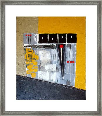Traffic Framed Print by Holly Anderson