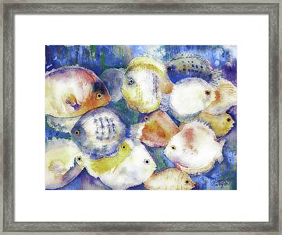 Traffic Jam Framed Print by Arline Wagner