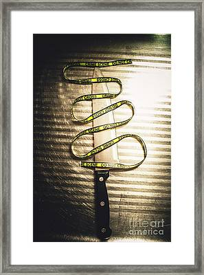 Trail Of Clues Framed Print by Jorgo Photography - Wall Art Gallery