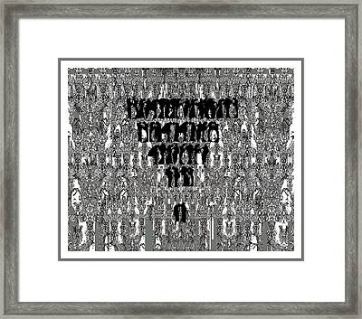 Trail Searching Framed Print by Olena Kulyk