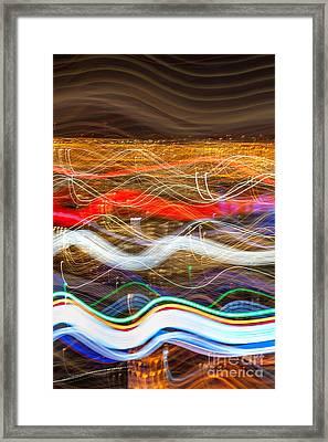 Trailblazing Framed Print by Az Jackson