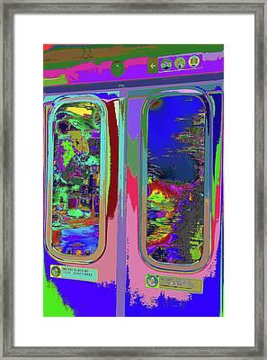 Train Keeps Rollin  Framed Print by Kenneth James