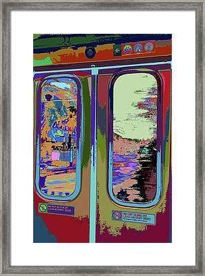 Train Ride 357 Framed Print by Kenneth James