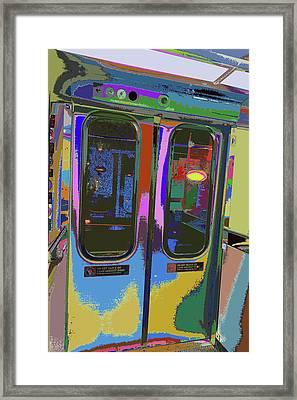 Train Ride 7 Framed Print by Kenneth James