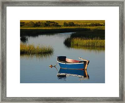 Tranquil Cape Cod Photography Framed Print by Juergen Roth