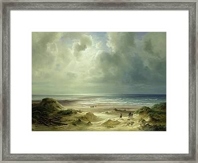 Tranquil Sea Framed Print by Carl Morgenstern