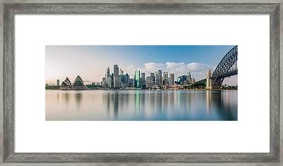 Tranquil Sydney Mornings Framed Print by Az Jackson
