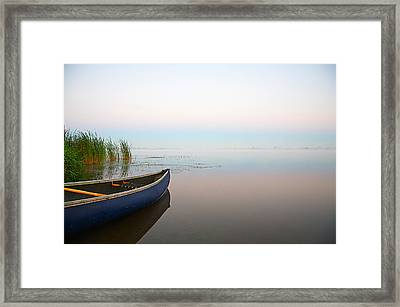 Tranquil Framed Print by Theo Tan
