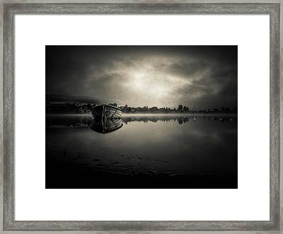 Tranquil Water Framed Print by Silvijo Selman