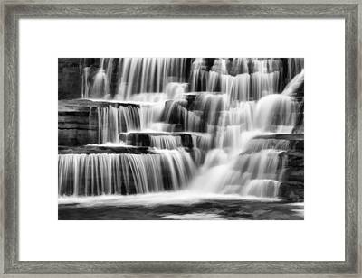 Tranquil Waters Abstract Framed Print by Stephen Stookey