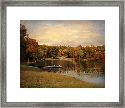 Tranquility Framed Print by Jai Johnson
