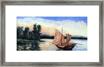 Tranquility Framed Print by Tom Roderick