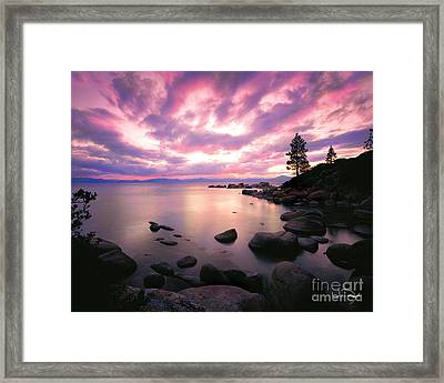 Tranquility  Framed Print by Vance Fox
