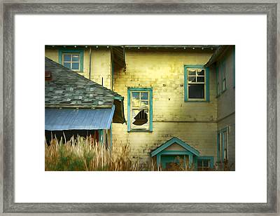 Tranquille Sanatorium Framed Print by Theresa Tahara