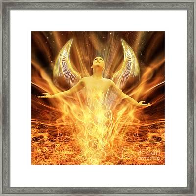 Transcend Framed Print by John Edwards