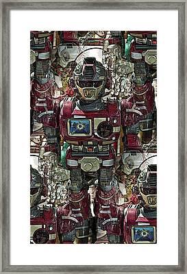 Transformique For Sale Framed Print by Gwyn Newcombe
