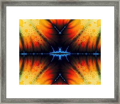 Transient Propagation Framed Print by Clayton Bruster