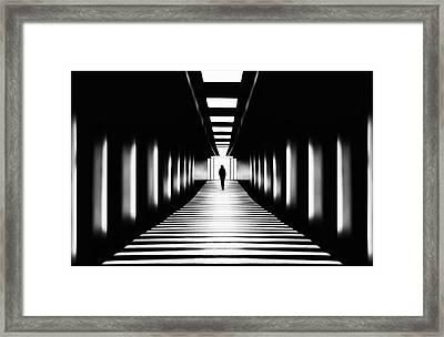 Transition Framed Print by Samanta
