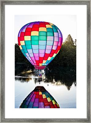 Translucent Balloon Framed Print by Mary Jo Allen