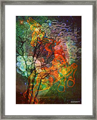 Transportation Perpetual Of The Up-and-coming Soul  Framed Print by Paulo Zerbato