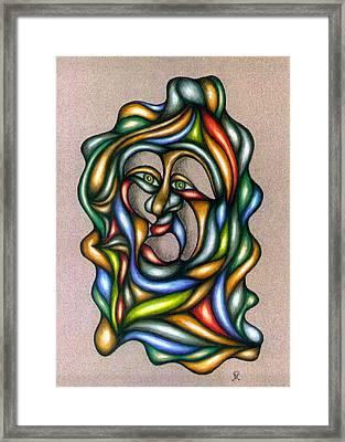 Trapped Framed Print by Karen Musick