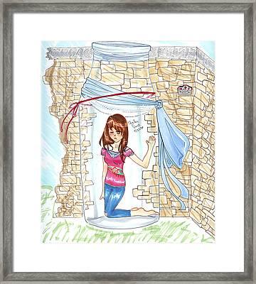 Trapped Framed Print by Shelby Davis