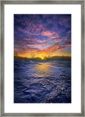 Traveled By Many, Remembered By Few Framed Print by Phil Koch