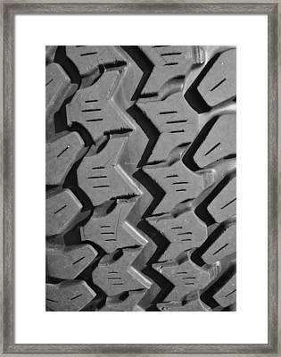 Tread Blox 1 Framed Print by Luke Moore