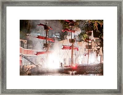 Treasure Island Flashes Framed Print by Andy Smy