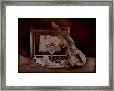 Treasures Framed Print by Jo Schwartz