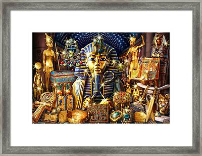 Treasures Of Egypt Framed Print by Andrew Farley