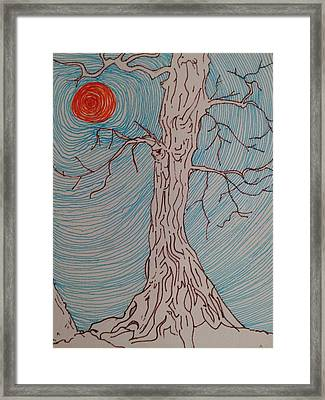 Tree 3 Framed Print by William Douglas