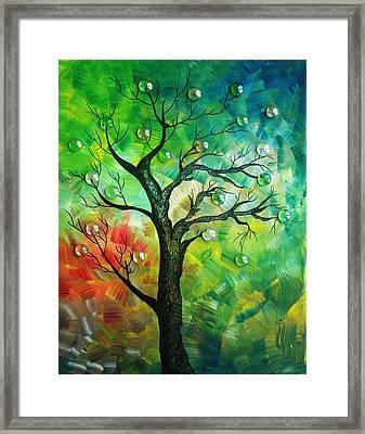 Tree Fantasy Framed Print by Ramneek Narang