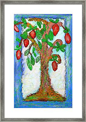 Tree Of Life Framed Print by Ian Roz