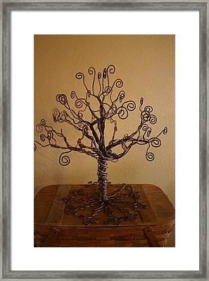 Tree Of Life Framed Print by Shawna Dockery