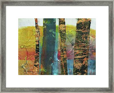 Trees Framed Print by Melody Cleary
