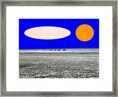 Trekking Framed Print by Patrick J Murphy