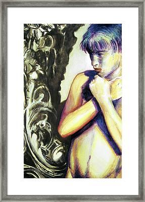 Trembling Flower Framed Print by Rene Capone