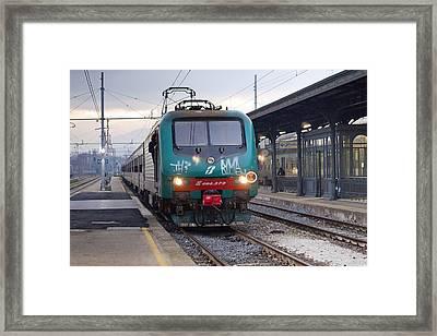 Trenitalia Framed Print by Andre Goncalves