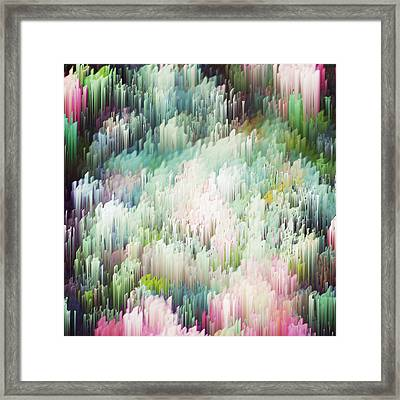 Trespass Roses Framed Print by Alix Rumble